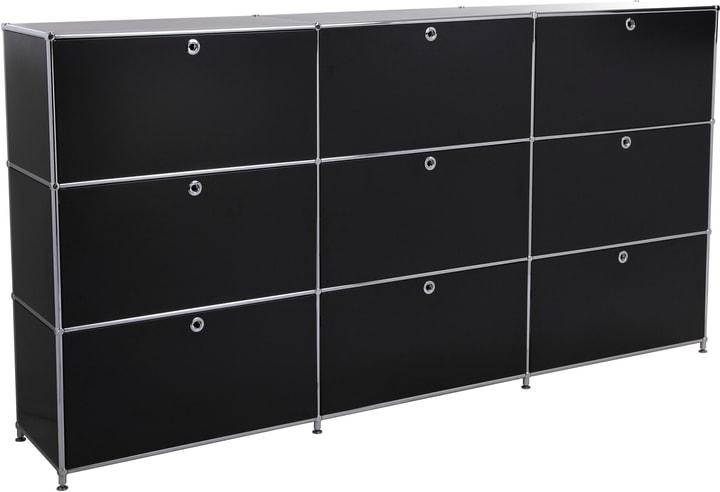 FLEXCUBE Buffet haut 401815030320 Dimensions L: 227.0 cm x P: 40.0 cm x H: 118.0 cm Couleur Noir Photo no. 1
