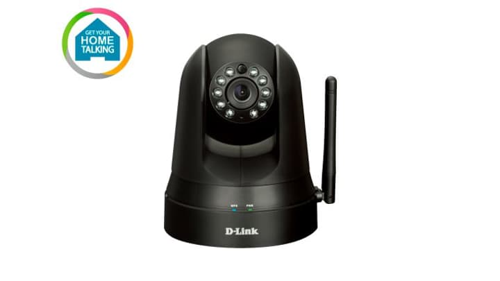 mydlink DCS-5010L Home Monitor 360 camera D-Link 797966700000 N. figura 1