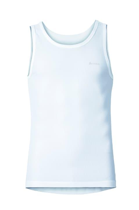 Cubic Débardeur pour homme Odlo 497026700410 Couleur blanc Taille M Photo no. 1