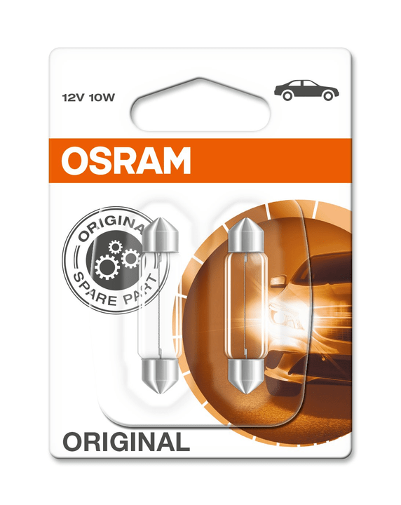 Original C10W 2 pezzi Osram 620475400000 N. figura 1
