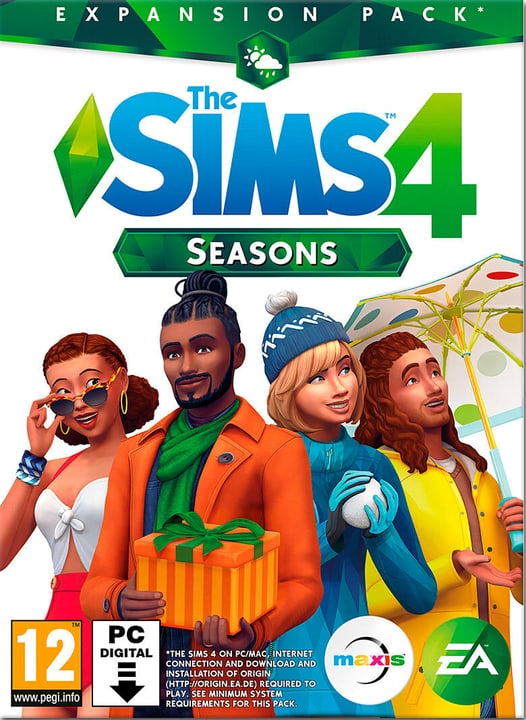 The Sims 4 Seasons - Add-On [PC/Mac] [Co Download (ESD) 785300137410 Photo no. 1