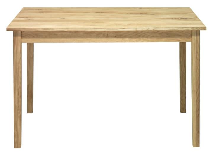 SILVA Table de cuisine 402226612014 Dimensions L: 120.0 cm x P: 75.0 cm x H: 74.0 cm Couleur Chêne brut Photo no. 1