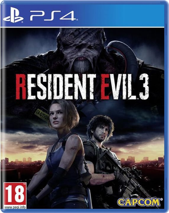 PS4 - Resident Evil 3 Box 785300150592 Photo no. 1
