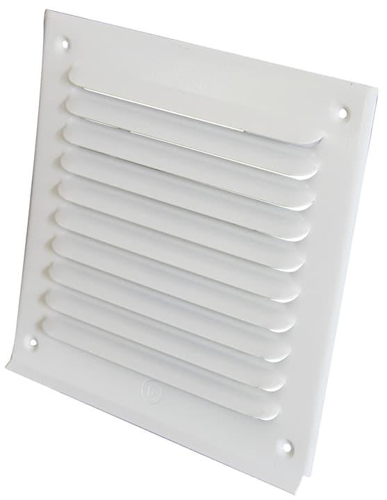 Griglia di aerazione senza zanzariera Suprex 678030000000 Colore Bianco Annotazione 180 x 180 mm N. figura 1