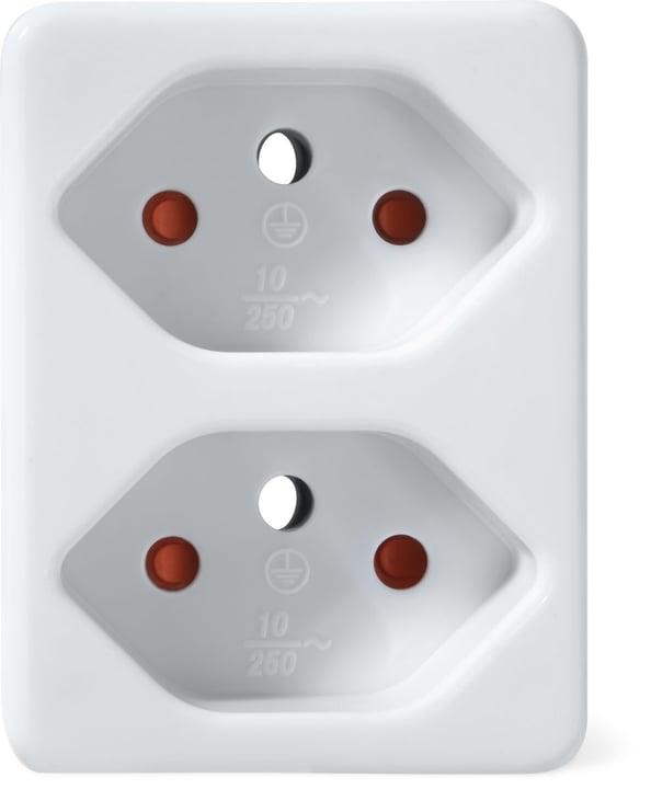 Spina di derivazione 2x bianca Abzweigstecker Durabase 791038200000 N. figura 1