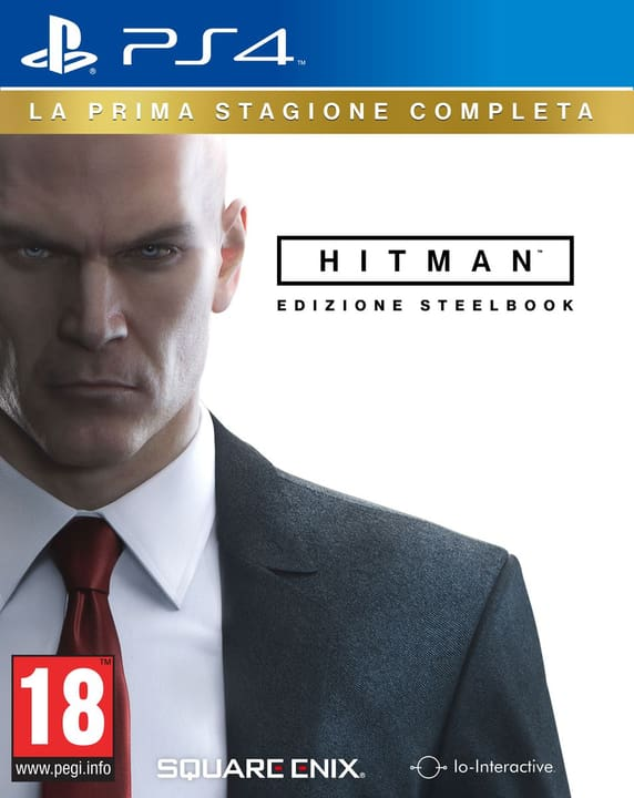 PS4 - Hitman La Prima Stagione Steelbook Ed. 785300121624