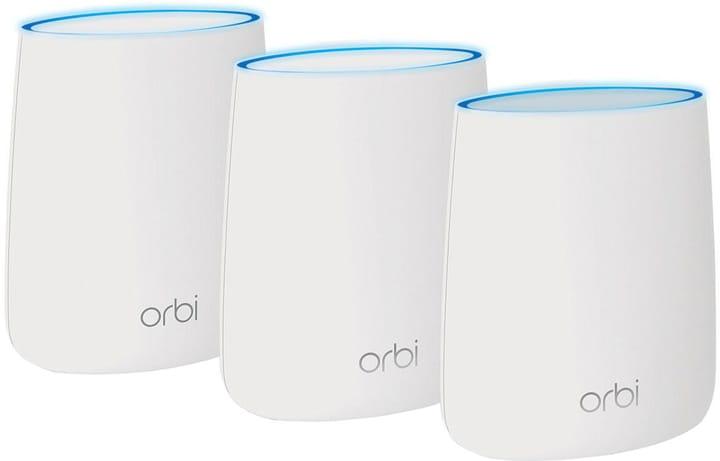 RBK23-100PES Orbi Tri-Band Mesh Wifi WLAN System (1x Router, 2x Satellit) Netgear 785300134604 N. figura 1