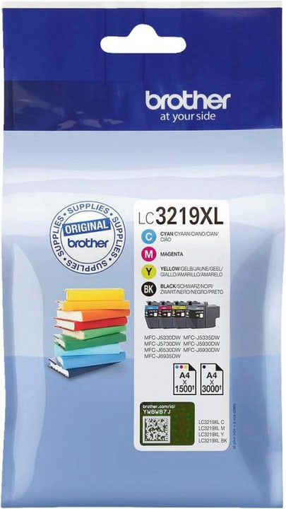 Value Pack LC-3219XL Cartouche d'encre Brother 798540800000 Photo no. 1