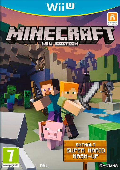 Wii U - Minecraft  Editinkl. Super Mario Mash-Up Box 785300121171 N. figura 1