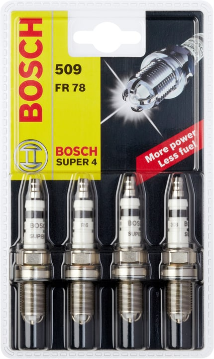 Super 4 509 FR 78 Zündkerze Bosch 620443500000 Photo no. 1