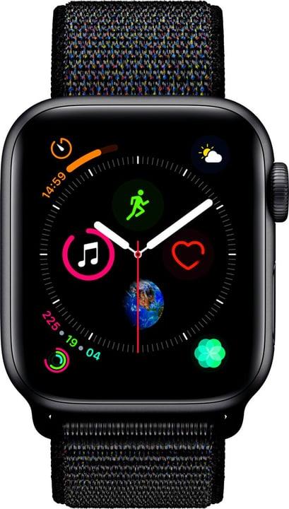 Watch Serie 4 40mm GPS+Cellular space gray Aluminum Black Sport Loop Smartwatch Apple 798453100000 Photo no. 1