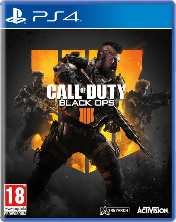 PS4 - Call of Duty: Black Ops 4 Box 785300135606 Langue Italien Plate-forme Sony PlayStation 4 Photo no. 1