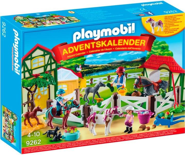 """Playmobil Christmas Adventskalender """"Reiterhof"""" 9262 746082000000 Bild Nr. 1"""
