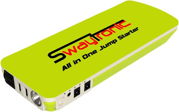 All-in-One Jump Starter 18000mAh Powerbank Swaytronic 785300137098 N. figura 1