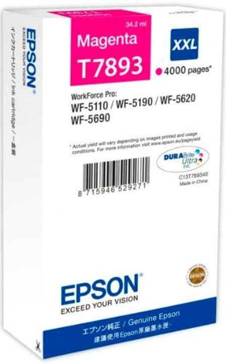 T789340 magenta Cartuccia d'inchiostro Epson 795849400000 N. figura 1