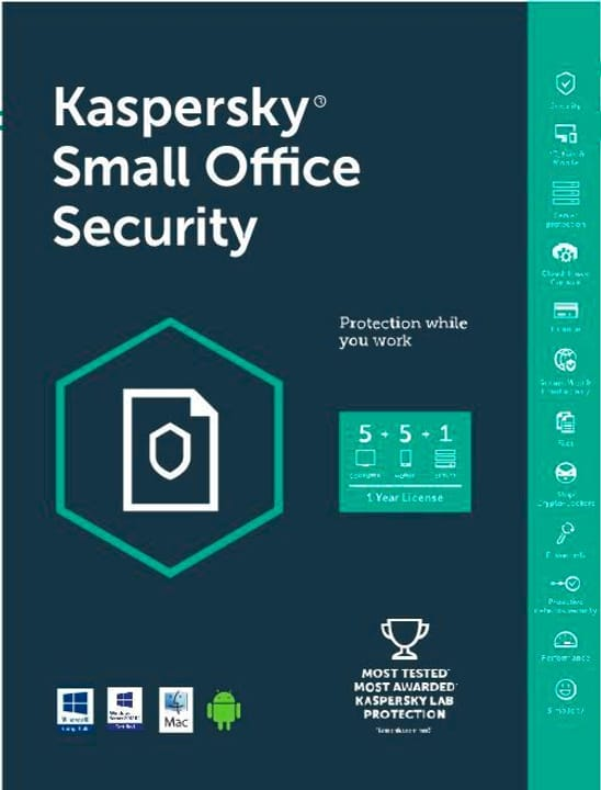 PC Kaspersky Small Office Security Physique (Box) Kaspersky 785300121541 Photo no. 1