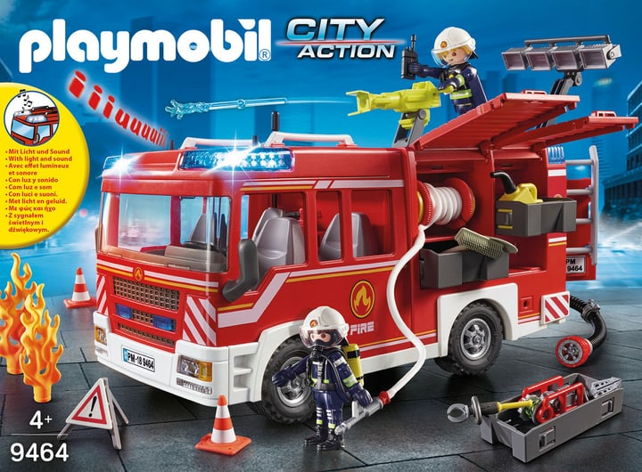 Playmobil 9464 Fourgon d'intervent. 748003400000 Photo no. 1