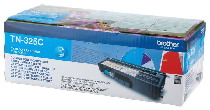TN-325C HY cyan Toner Brother 797543700000 N. figura 1