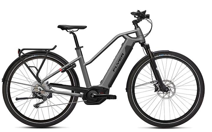"""Upstreet4 7.70 28"""" vélo electrique de trekking FLYER 463350700387 Tailles du cadre S Couleur argent Photo no. 1"""