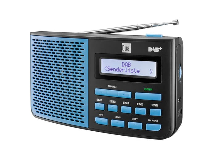 DAB 4.1 BS - Blau Digitalradio DAB+ Dual 773024200000 Bild Nr. 1