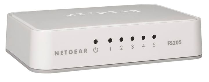 FS205-100PES 5-Port Switch Netgear 785300124211 Photo no. 1