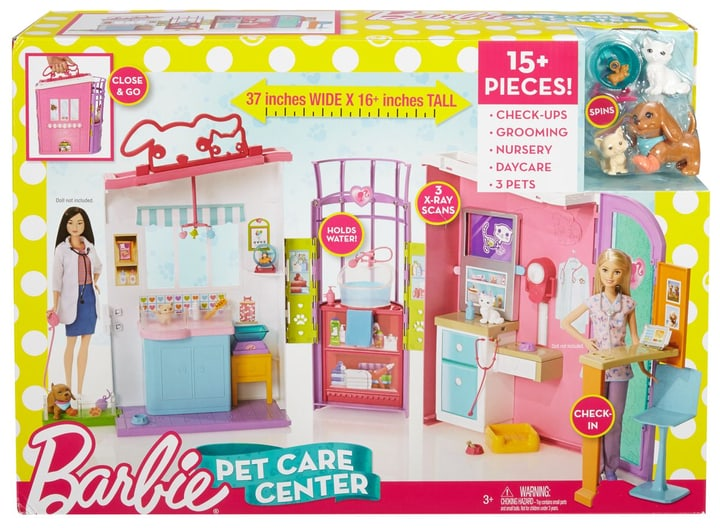Barbie Studio Veterinario 747939000000 N. figura 1