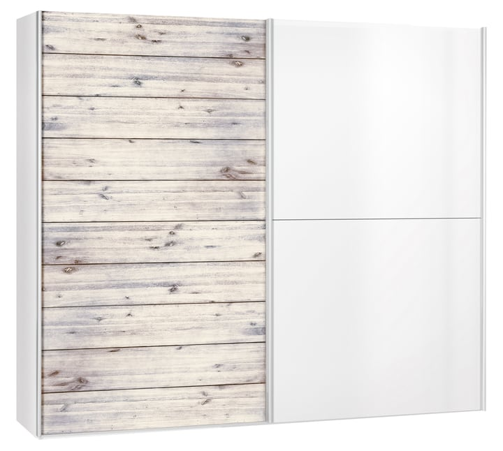 CORELLE Armoire 404443200000 Dimensions L: 252.0 cm x P: 67.0 cm x H: 220.0 cm Couleur Couleur brillant Photo no. 1