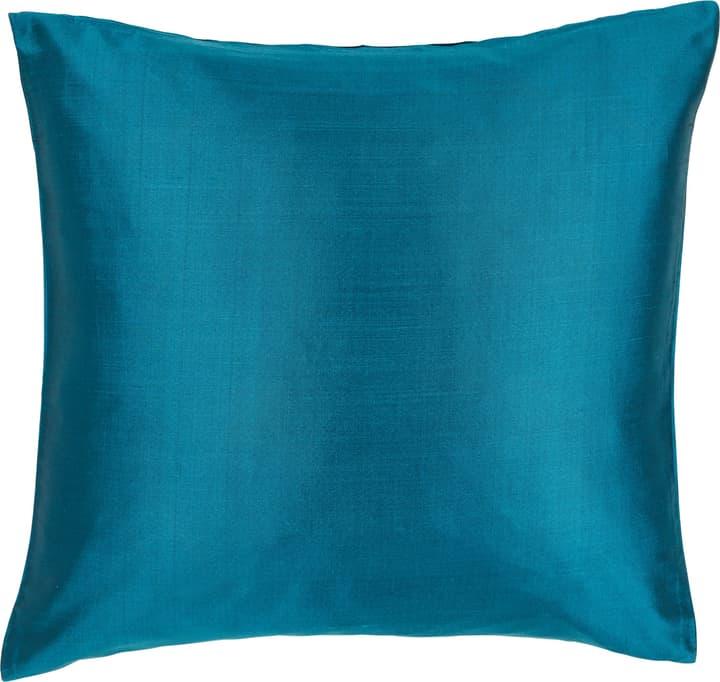 DELIA Fodera per cuscino decorativo 450725740044 Colore Turchese Dimensioni L: 40.0 cm x A: 40.0 cm N. figura 1