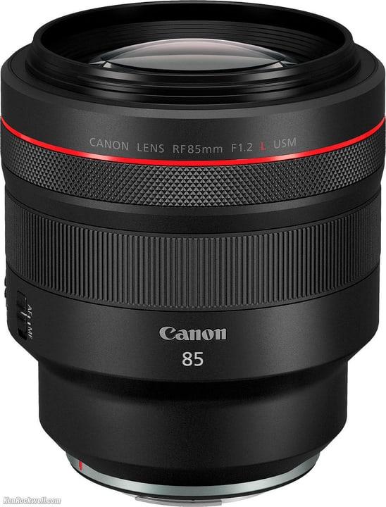 RF 85mm f/1.2 L USM Objectif Canon 785300144495 Photo no. 1