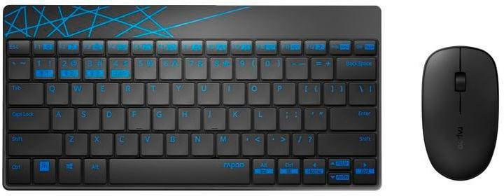 Kit Keyboard-Mouse 8000M Rapoo 785300141285 N. figura 1