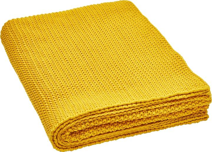FABIO Coperta 451662743150 Colore Giallo Dimensioni L: 130.0 cm x A: 170.0 cm N. figura 1