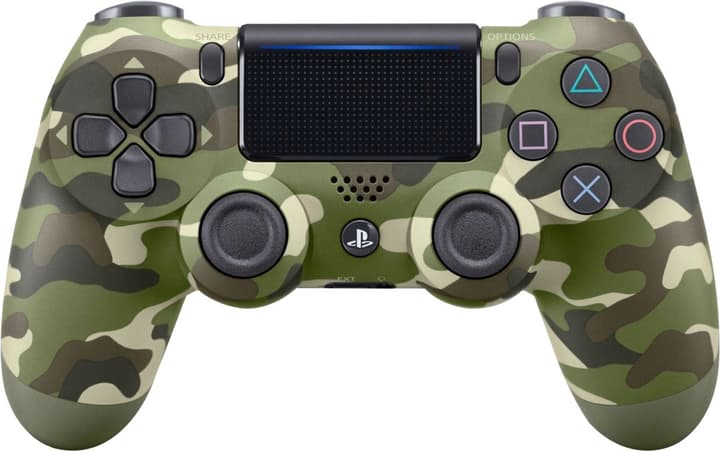 PS4 Wireless DualShock Controller v2 camouflage Manette Sony 798072000000 Photo no. 1