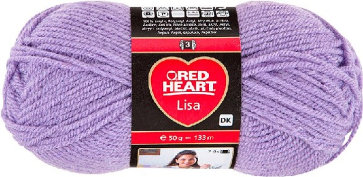 Wolle Lisa Red Heart 665511400000 Farbe Dunkelblau Bild Nr. 1