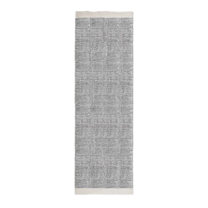 ASKO Teppich 371009500000 Farbe Schwarz karo Grösse B: 80.0 cm x T: 250.0 cm Bild Nr. 1
