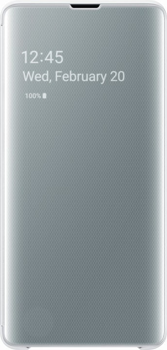 Clear view Cover white Custodia Samsung 785300142493 N. figura 1