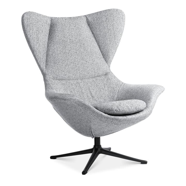 BAYA Sessel, Fuss schwarz 360435407080 Farbe Grau Grösse B: 90.0 cm x T: 90.0 cm x H: 112.0 cm Bild Nr. 1