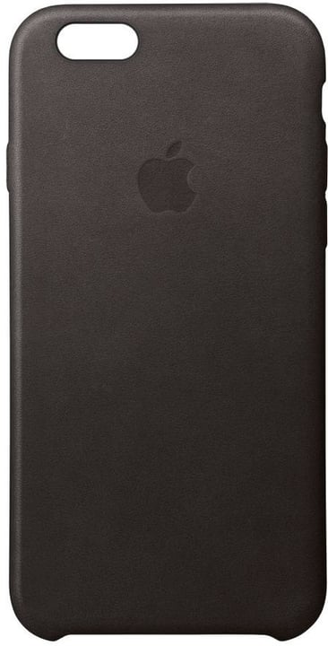 Apple iPhone 6/6s Leather Case schwarz Apple 798108700000 Bild Nr. 1
