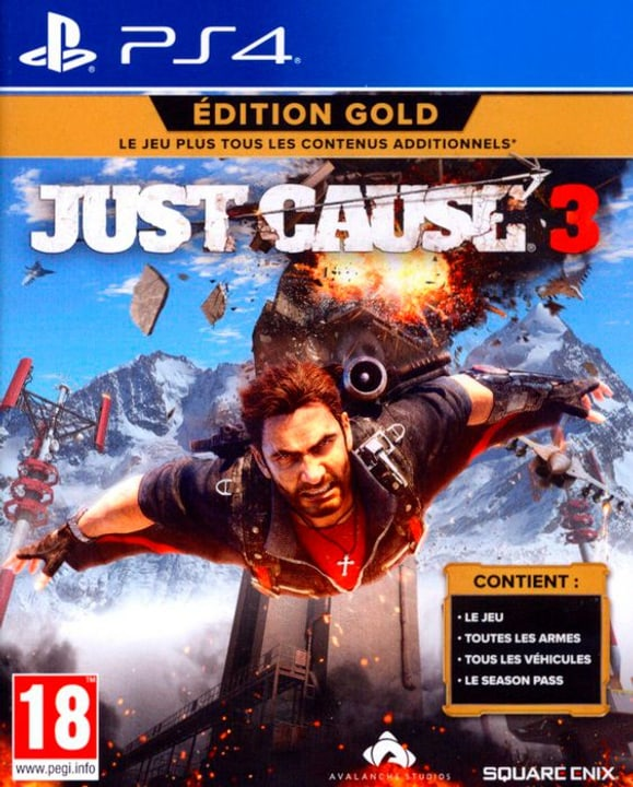 PS4 - Just Cause 3 Gold Edition 785300122081 Bild Nr. 1