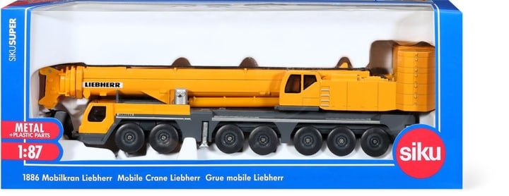 Grue mobile Liebherr 1:87 744218700000 Photo no. 1
