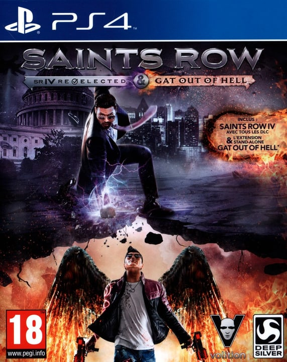 PS4 - Saints Row 4 Gooh Edition Physisch (Box) 785300121724 Bild Nr. 1