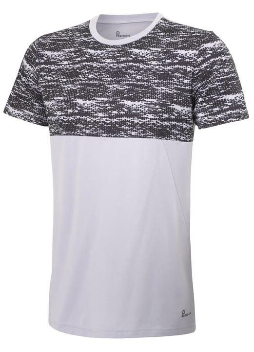 Herren-T-Shirt Perform 464943500581 Farbe Hellgrau Grösse L Bild-Nr. 1