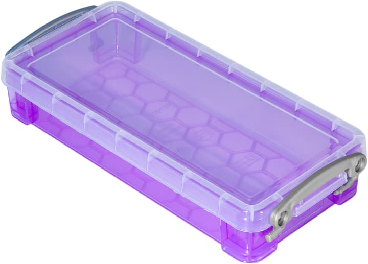 Boîte de plastique 0.55L Really Useful Box 603730800000 Taille L: 22.0 cm x L: 10.0 cm x H: 4.0 cm Couleur Violet Photo no. 1