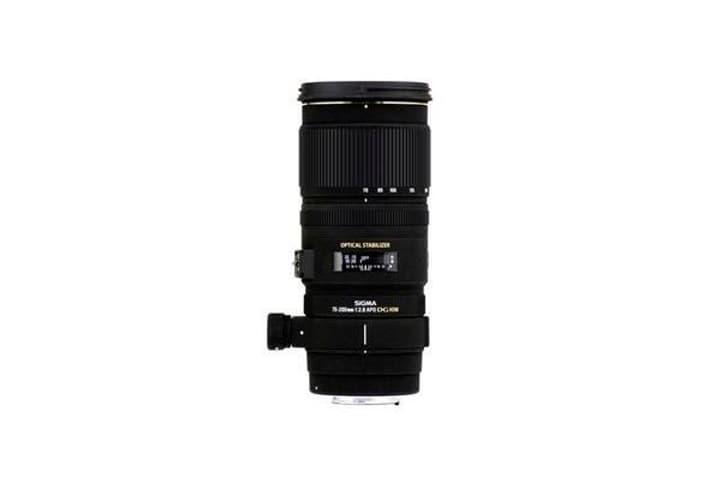 70-200mm/2,8 EX DG OS HSM pour Nikon objectif Objectif Sigma 785300126176 Photo no. 1