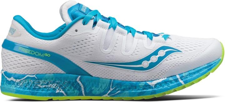 Freedom ISO Chaussures de course pour femme Saucony 462017337510 Couleur blanc Taille 37.5 Photo no. 1