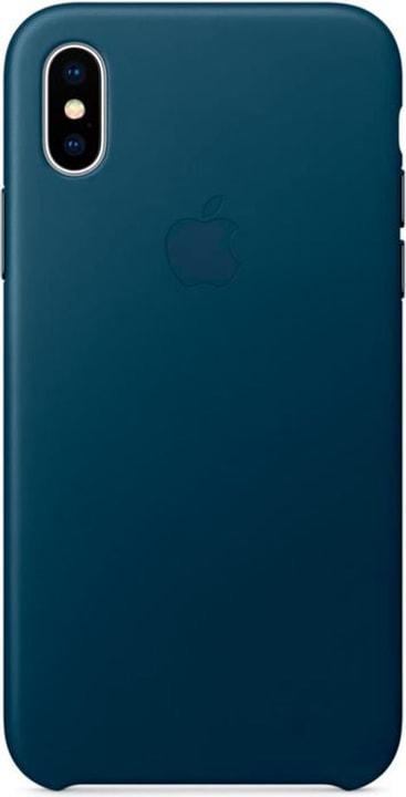 iPhone X Leather Case Cosmos Bleu Apple 785300130122 Photo no. 1