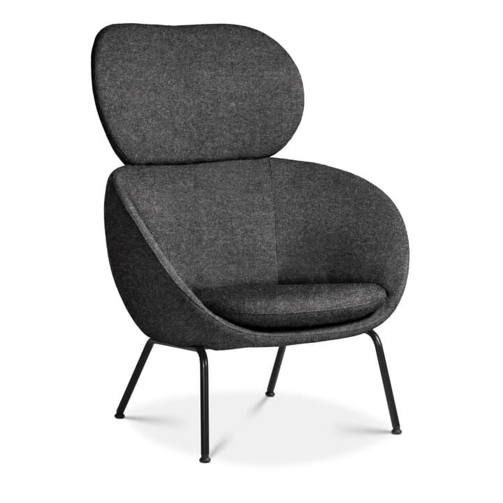 SAPO Sessel Edition Interio FG0000346003 Grösse B: 84.0 cm x T: 85.0 cm x H: 110.0 cm Farbe Dunkelgrau Bild Nr. 1