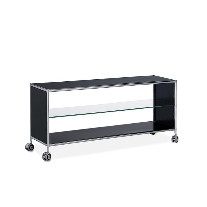 QUADRO TV-Möbel 364009300000 Grösse B: 77.0 cm x T: 39.6 cm x H: 48.5 cm Farbe Schwarz Bild Nr. 1