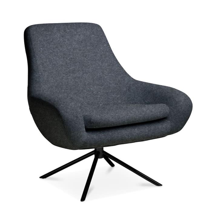 SILAS Sessel 360063919507 Grösse B: 84.0 cm x T: 71.0 cm x H: 90.0 cm Farbe Dunkelgrau Bild Nr. 1