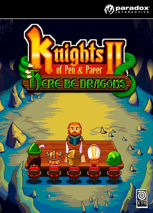 PC/Mac - Knights of Pen and Paper II - Here Be Dragons Download (ESD) 785300134188 N. figura 1