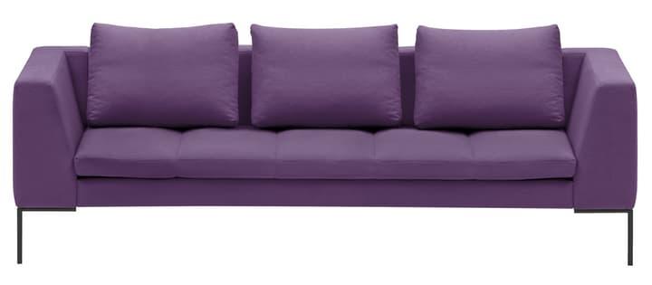 BADER Canapé 3 places 405686430323 Dimensions L: 238.0 cm x P: 105.0 cm x H: 80.0 cm Couleur Violet Photo no. 1